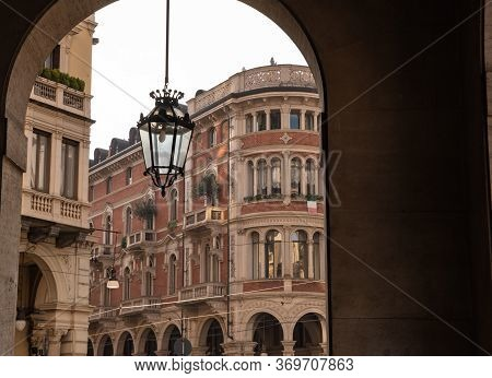 Turin, Piedmont, Italy. May 2020. In The Historic Center, Via Pietro Micca: The Most Beautiful Histo