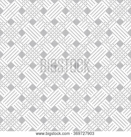 Seamless Pattern. Abstract Small Dotted Textured Background. Modern Minimal Texture. Regularly Repea
