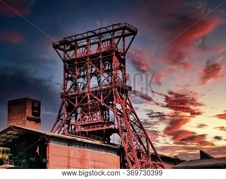 The Old Winding Tower Of Consolidation Colliery