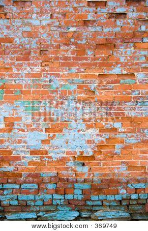 Distressed Brick Wall 4
