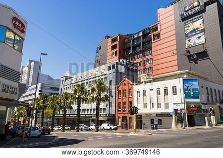 Cape Town City Center Hotels And Junction In Cape Town, South Africa.