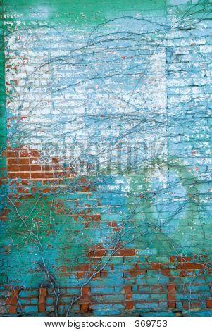 Distressed Brick Wall 8