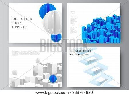 Vector Layout Of Presentation Slides Design Templates, Template For Presentation Brochure, Brochure