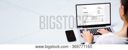 Online Invoice Management And Billing. Financial Management