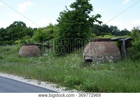 Coal Storage In Rural Part Of East Serbia