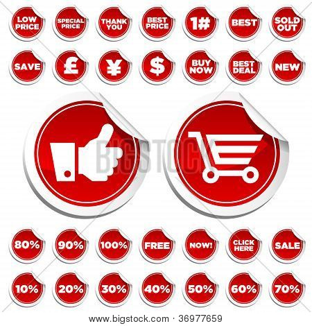 Sale Shopping Stickers