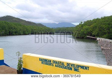 Palawan, Ph - Nov 28 - Bacungan Mangrove River Coast View On November 28, 2009 In Puerto Princesa, P