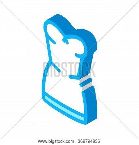 Elegant Lingerie Icon Vector. Isometric Elegant Lingerie Sign. Color Isolated Symbol Illustration
