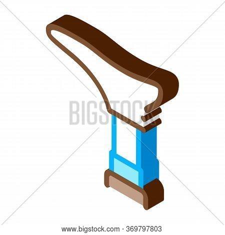 Leg Repair Tool Icon Vector. Isometric Leg Repair Tool Sign. Color Isolated Symbol Illustration