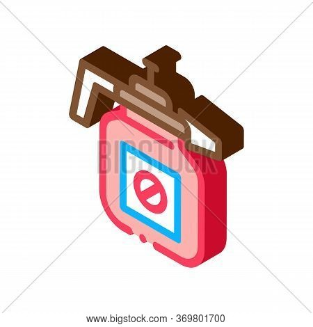 Atomizer Tool Icon Vector. Isometric Atomizer Tool Isometric Sign. Color Isolated Symbol Illustratio