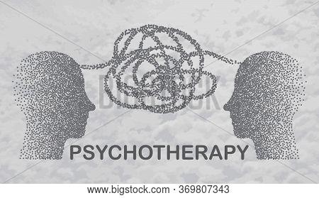 Psychology. Psychologist Online. Psychotherapy Practice, Psychological Help, Psychiatrist Consulting
