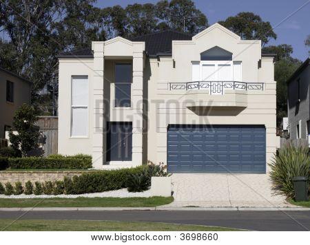 New Modern Suburban House