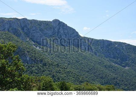 Lookout Big Strbac Near Danube In National Park Djerdap In East Serbia