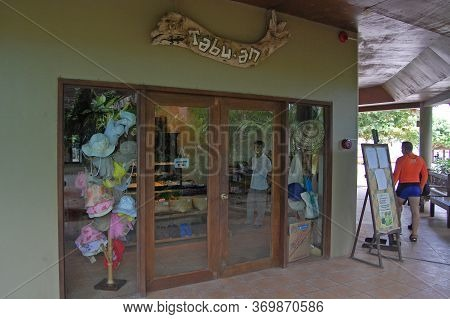 Palawan, Ph - Nov 30 - Tabuan Store Facade At Dos Palmas Island Resort On November 30, 2009 In Honda