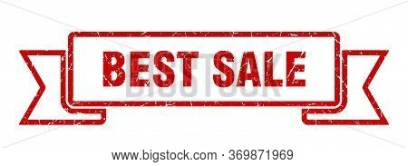 Best Sale Grunge Ribbon. Best Sale Sign. Best Sale Banner