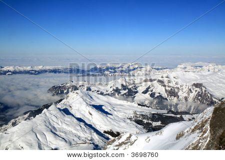 Swiss Alpine Mountain
