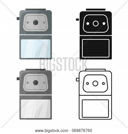 Isolated Object Of Sharpener And Whittle Symbol. Graphic Of Sharpener And Sharpen Stock Vector Illus