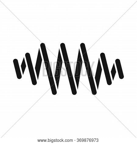Vector Illustration Of Coil And Metal Logo. Graphic Of Coil And Detail Vector Icon For Stock.