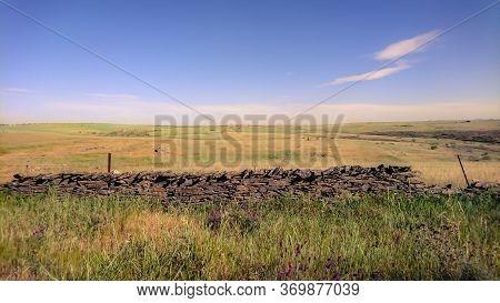 Landscape Of National Park Zona De Interes Regional Llanos De Ca