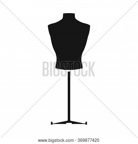 Isolated Object Of Dummy And Bust Sign. Web Element Of Dummy And Female Stock Symbol For Web.