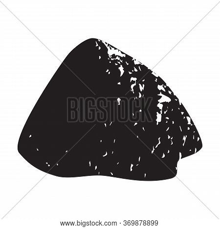 Pile Cement Vector Icon.black Vector Icon Isolated On White Background Pile Cement.
