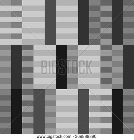 Rectangles Seamless Pattern. Blocks Background. Modern Wallpaper. Slabs Print. Contemporary Ornament