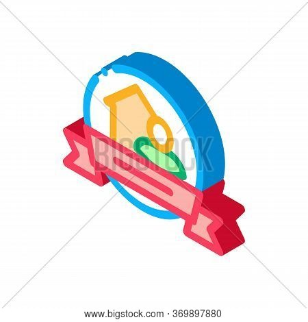 Brewer Logo Label Icon Vector. Isometric Brewer Logo Label Sign. Color Isolated Symbol Illustration