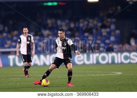 Napoli. Italy. 26th January 2020. Italian Serie A. Ssc Napoli Vs Juventus Fc. Cristiano Ronaldo Of J