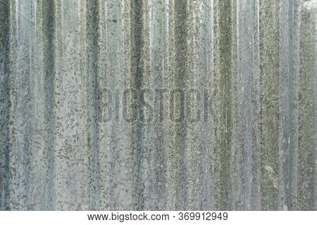 Old Galvanized Roof Pattern For House Fences