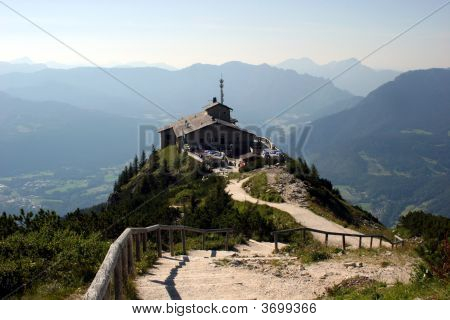 Kehlstein And Eagles Nest In The Bavarian Alps