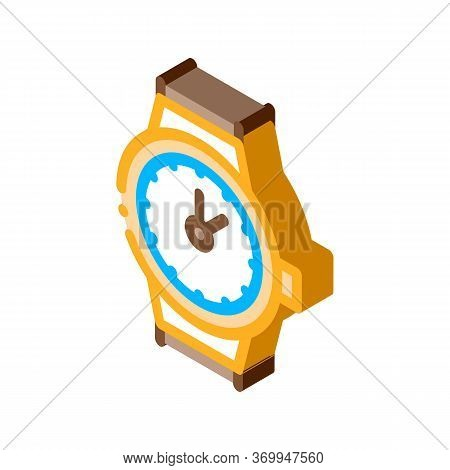 Swiss Watches Icon Vector. Isometric Swiss Watches Sign. Color Isolated Symbol Illustration