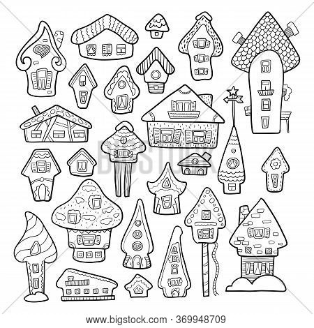 Doodle House Vector Vector Photo Free Trial Bigstock