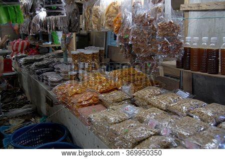 Palawan, Ph - Dec 1 - Puerto Princesa Public Market Delicacies Display On December 1, 2009 In Palawa