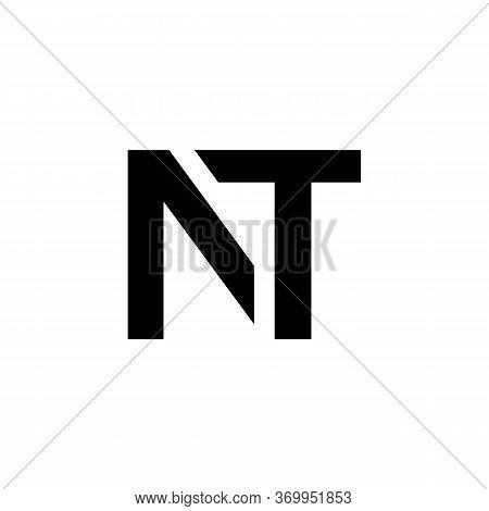 Initial Letter Nt, At Logo Design Vector Template. Creative Abstract Nt, At Letter Logo Design