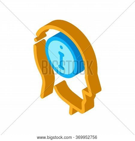 Witness Icon Vector. Isometric Witness Sign. Color Isolated Symbol Illustration