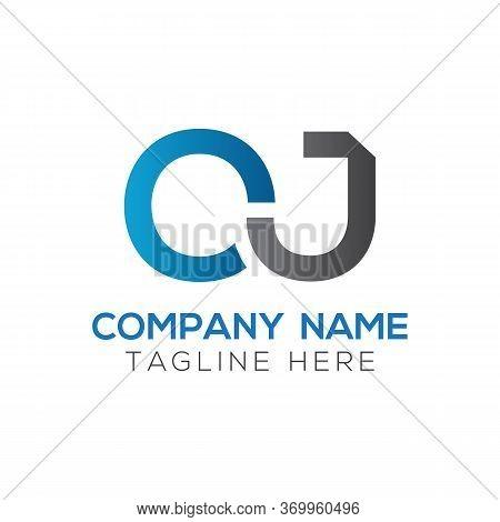 Initial Simple Letter Oj Logo Design Vector Template. Abstract Minimal Oj Letter Logo Design