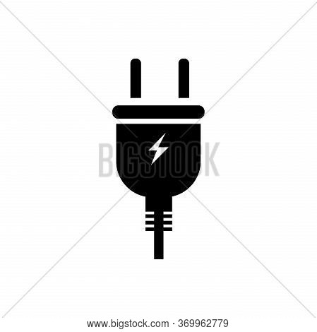 Plug Icon Isolated On White Background. Plug Icon In Trendy Design Style. Plug Vector Icon Modern An