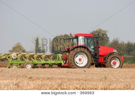 Tractor & Reversible Plough