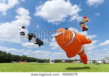Colorful Figure Kites