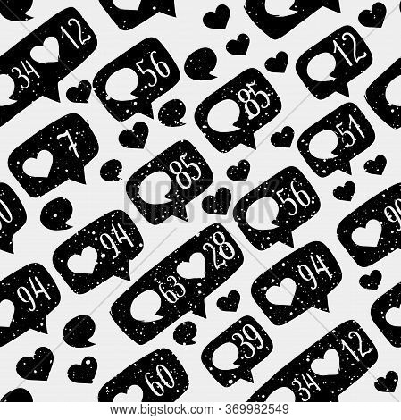 Seamless Pattern Of Illustration Of Hand Drawing Elements Of Hand Drawed Sketch Style Like Sign Icon