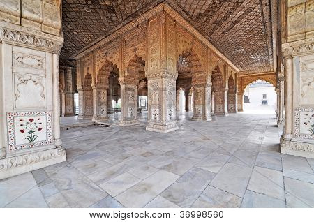 Hall of Audience, Red Fort Delhi