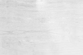 White Wooden Wall Texture Background, Top View Of Wooden Floor For A White Background, Pattern And W