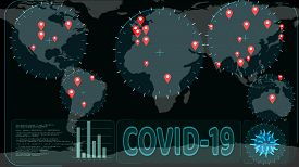 Crisis Of Covid 19 Virus And Radar Scanning To Detected In Country Has Spread All Over The World