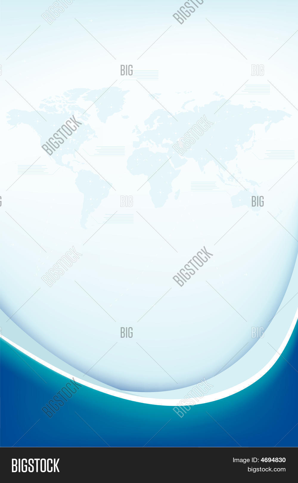 Abstract background world map vector photo bigstock abstract background with world map gumiabroncs Choice Image