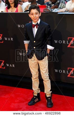 NEW YORK-JUNE 17: Actor Fabrizio Zacharee Guido attends the premiere of