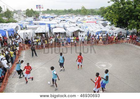 Haitian Soccer.