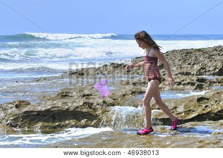 Playing In Tidepools