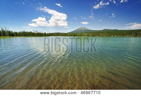 The Little Lave Lake at Bend Oregon