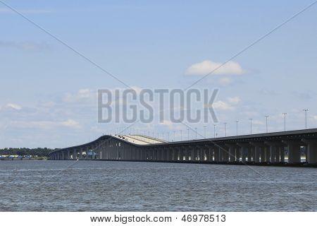 Highway Bridge Over Water