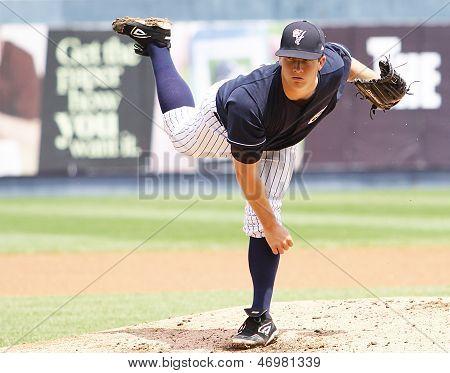 Scranton Wilkes Barre Yankees pitcher Adam Warren